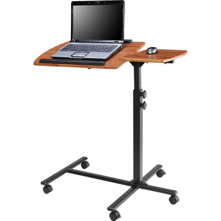 Adjustable Height Laptop Computer Standing Desk Cart with Wheels Customize Needs