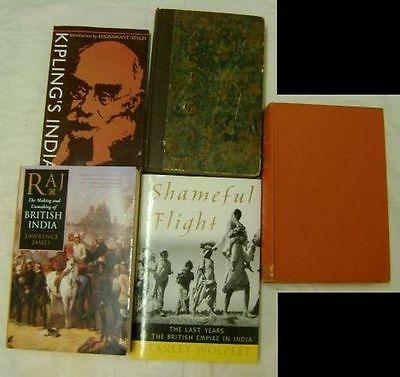 Lot: 5 Books on the History and Culture of India; British Empire, Mogul Empire