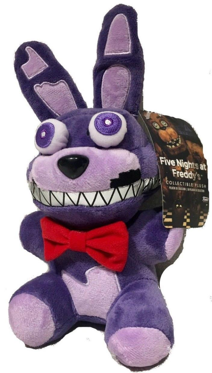 FIVE NIGHTS AT FREDDYS BONNIE NIGHTMARE PLUSH 6