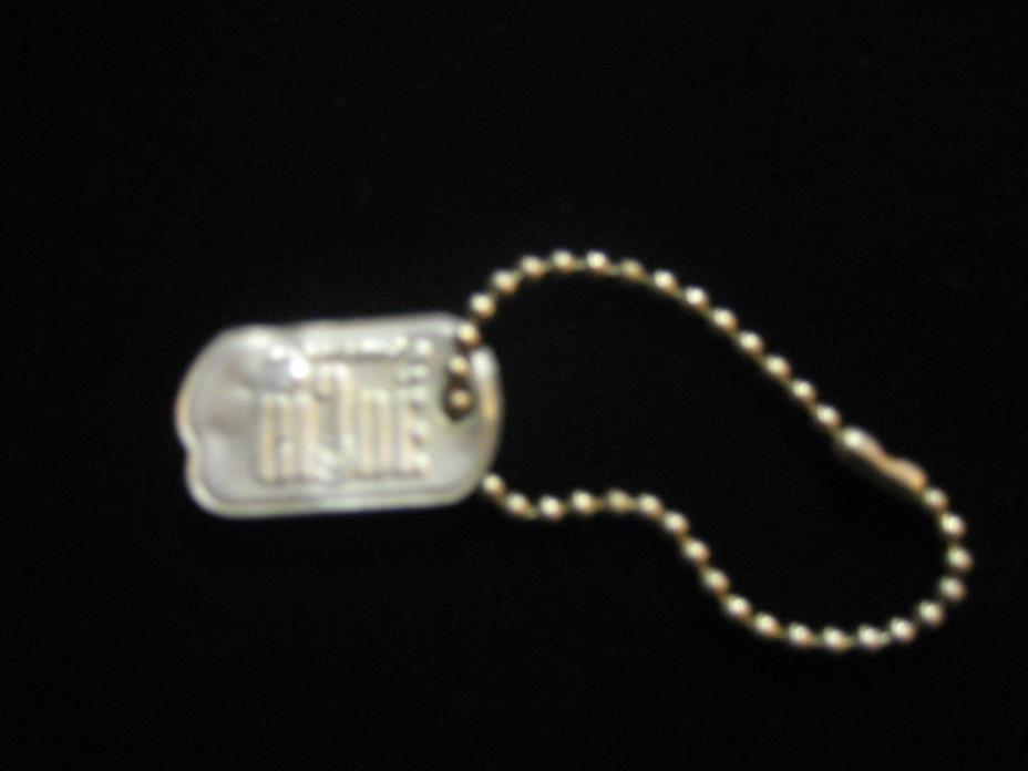 Vintage GI JOE Dog Tag