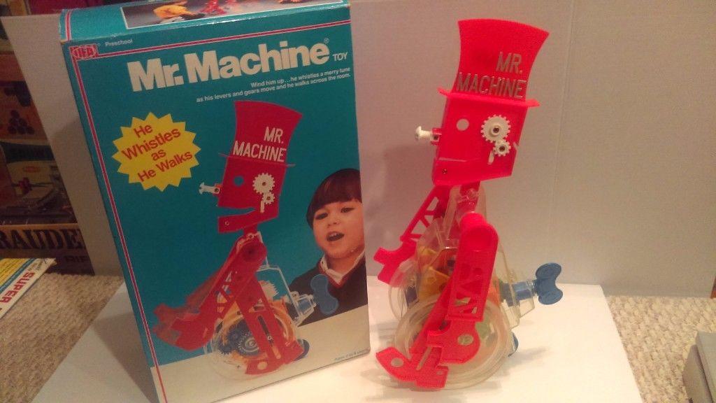 Vintage Ideal Mr. Machine 17