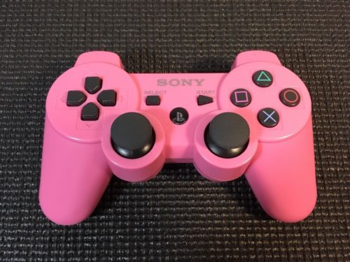 OFFICIAL Sony PlayStation 3 Wireless Controller PINK PS3 Dualshock 3 CECHZC2H