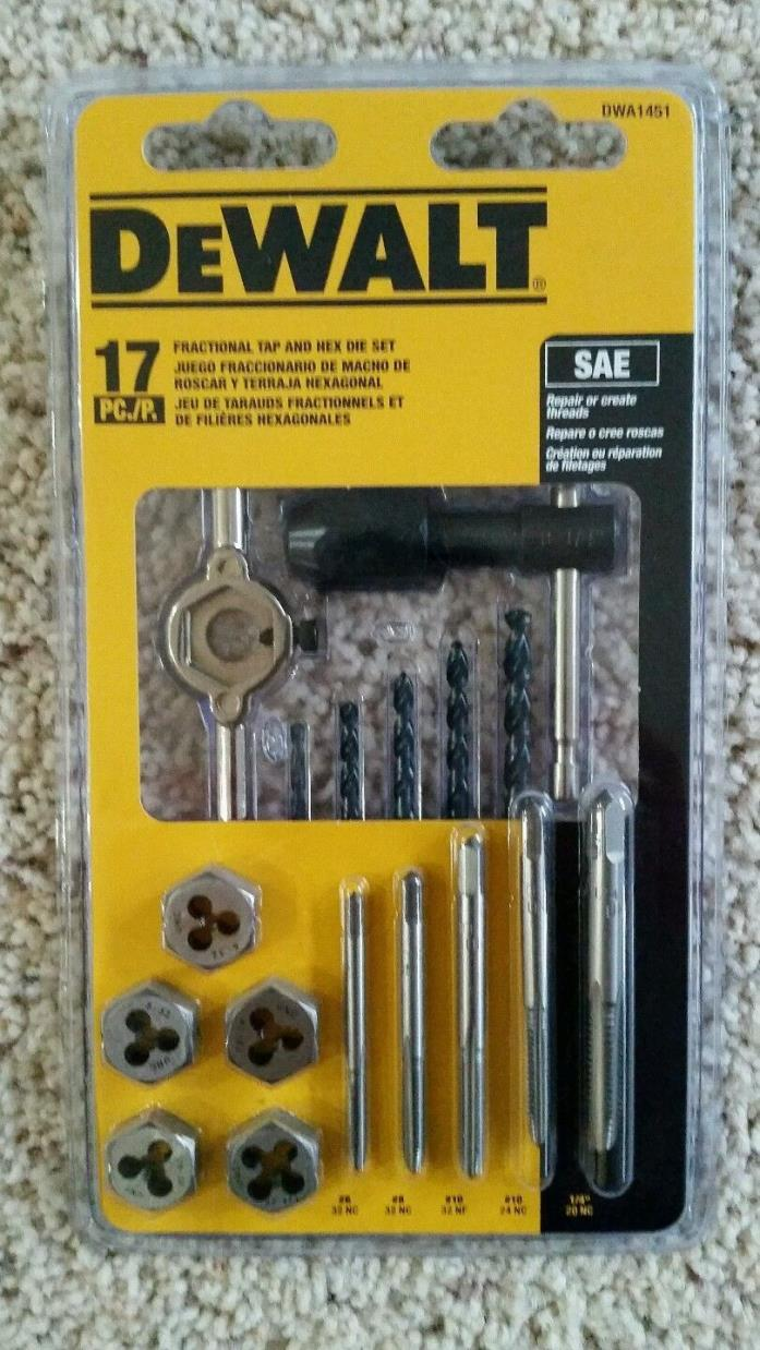 Metric Tap and Die Set (17-Piece)