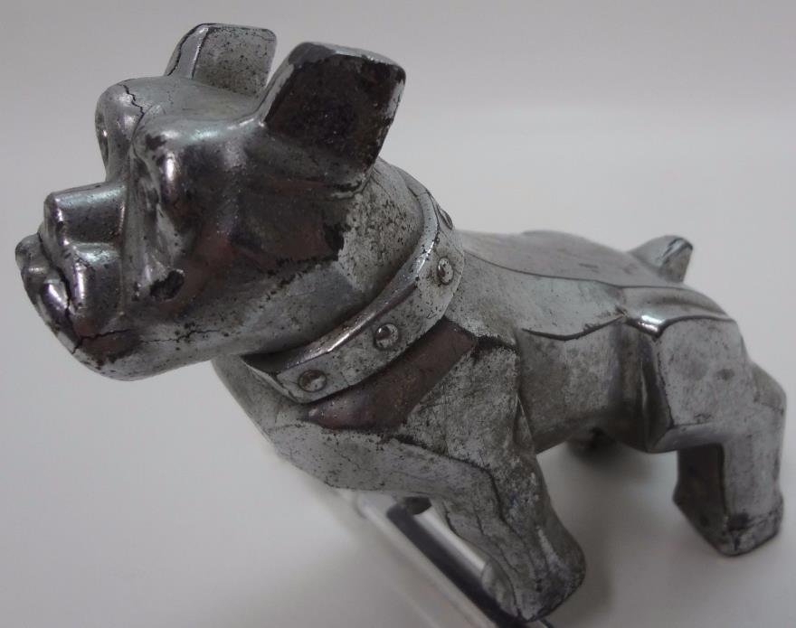 Vintage MACK Truck  Bulldog Hood Ornament Design Patent 87931