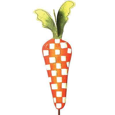 Round Top Collection Mini Checked Carrot Stake
