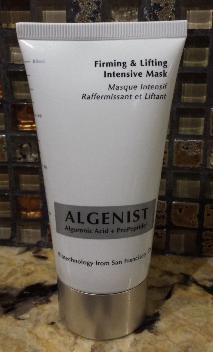 Algenist FIRMING & LIFTING INTENSIVE MASK Full Size 2.7 oz. Sealed $55 Value