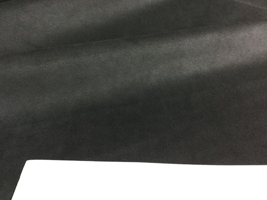 5788 Charcoal Toray Ambiance/HP  Ultrasuede Microfiber Uph. Fabric, 2 1/2 yds.