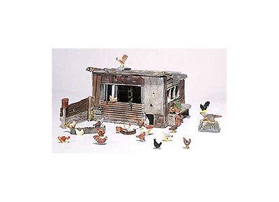 Woodland Scenics D215 Chicken Coop HO