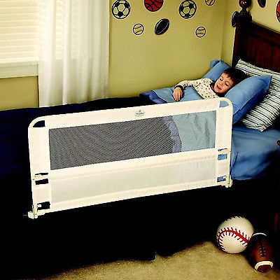 Hide Away Safety Bed Rail Toddler Kids Children Guard Adjustable 43 Inch Long
