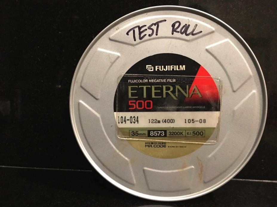 Fuji Eterna 500 35mm motion picture film 8573 122m (400ft)