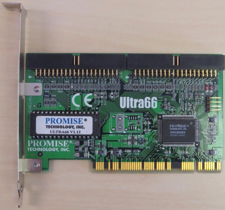 Promise Ultra66 PCI Controller Card
