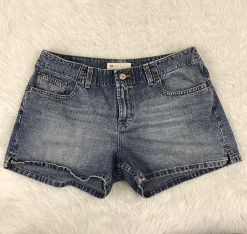 BKE denim Buckle Wendi Blue Jean Shorts Women's Size 31 5 pocket 33x12