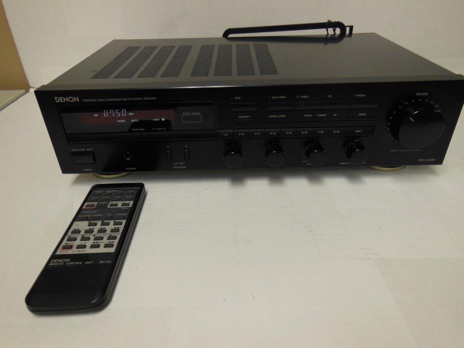 Denon DRA-325R AM/FM Receiver