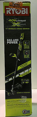 Ryobi RY40220 40V Lithium-Ion Attachment Capable String Trimmer New