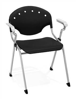 Stacking Multi-Purpose Chairs w Arms (Set of 4) [ID 377256]