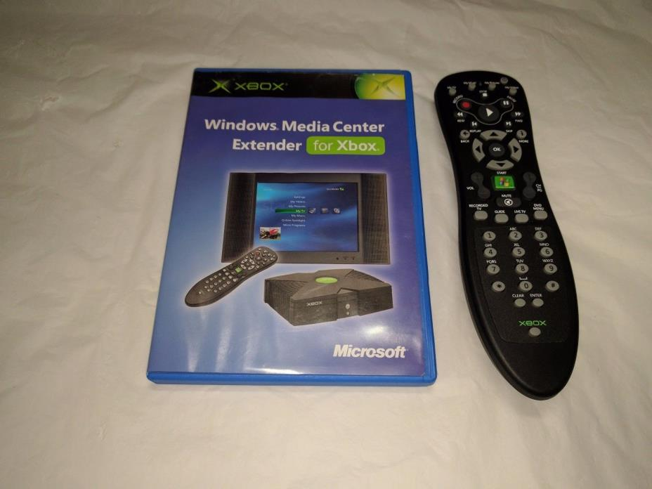 Windows Media Center Extender for Original Xbox w/ Remote - Used