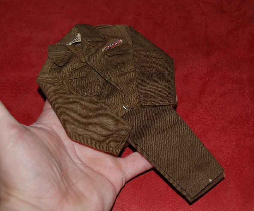 VINTAGE 1964 GI JOE 1ST ISSUE TM  NO COUNTRY BROWN MILITARY POLICE MP UNIFORM