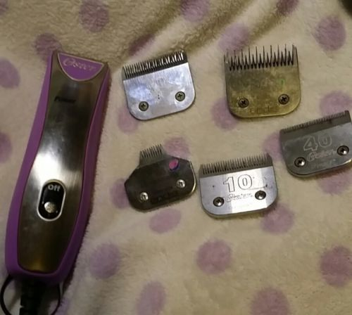 Oster clippers w/ blades