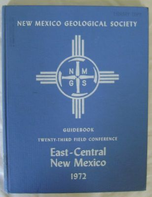 New Mexico Geological Guidebook, 1972. Geology, Mining, Mineral, Paleontology