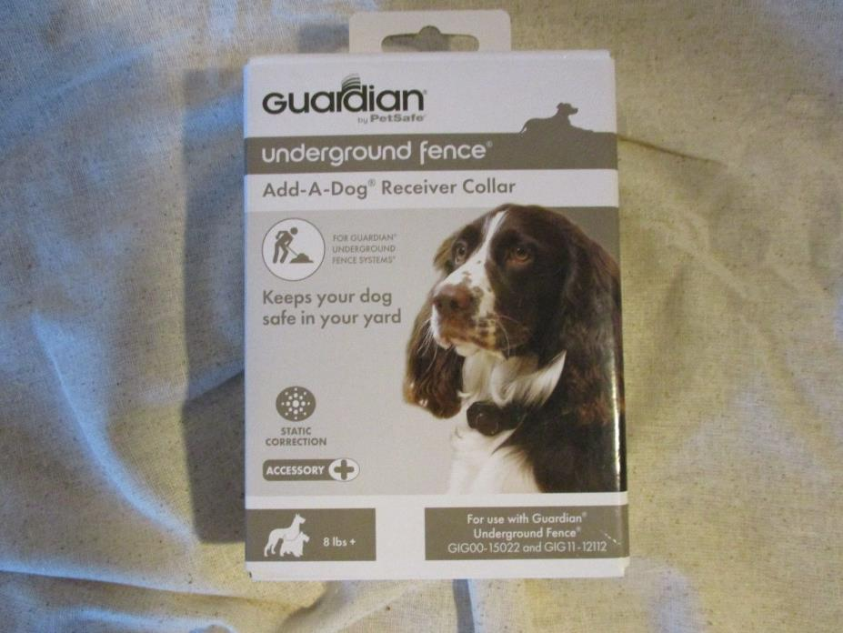 Guardian PetSafe ADD-A-DOG Receiver Collar for underground fence NEW