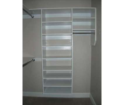Raleigh Custom Closets, All Natural Solid Wood Shelving