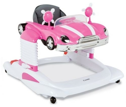 Combi All In One Mobile Entertainers Baby Walker Activity Center Driver Seat New