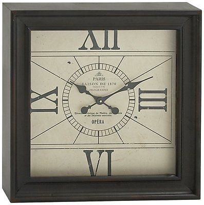 Splendid Metal Square Wall Clock