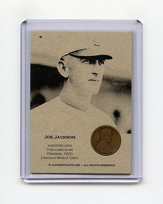 JOE JACKSON 1920 Wheat Penny Oddball Baseball Card RARE