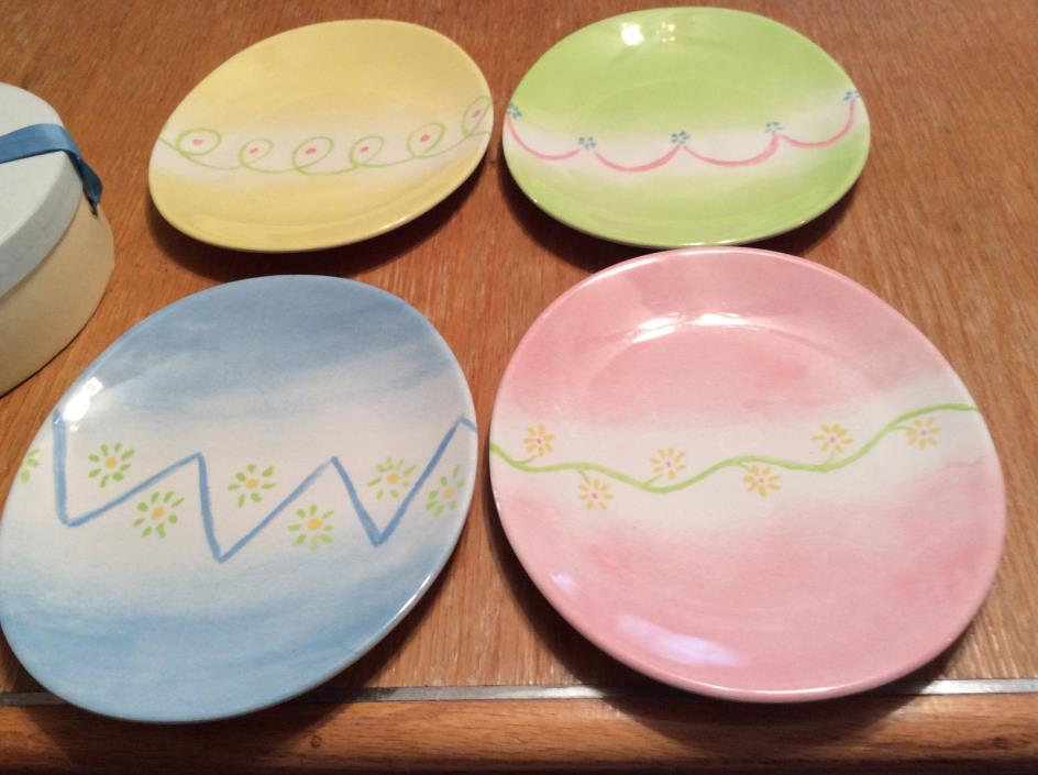 Pottery Barn Egg Plates For Sale Classifieds