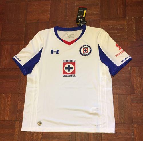 Under Armour Cruz Azul Mexico Soccer Fútbol Jersey Camiseta Youth XL