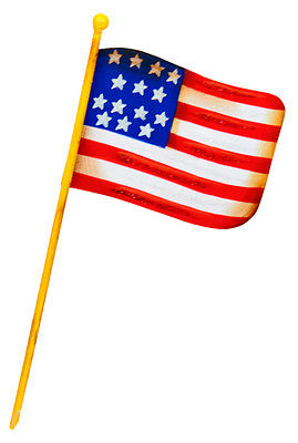 Round Top Collection American Flag Mini Stake