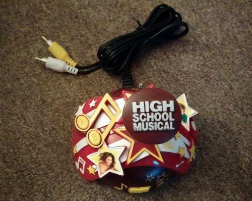 HIGH SCHOOL MUSICAL 4 VIDEO GAMES W/CONTROLLER BY DISNEY NIP PLUG & PLAY
