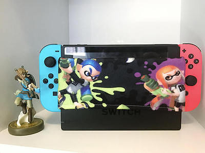 Nintendo Switch Dock Sock Screen Protector Handmade Splatoon Characters