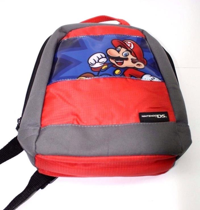 Mario Bros Nintendo DS Travel Back Pack Fast Shipping