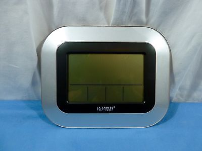 La Crosse Technology WS-8115U-S Digital Clock Indoor and Outdoor Temperature