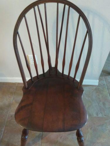 Estate Sale Nichols and Stone Windsor Chair Please read description