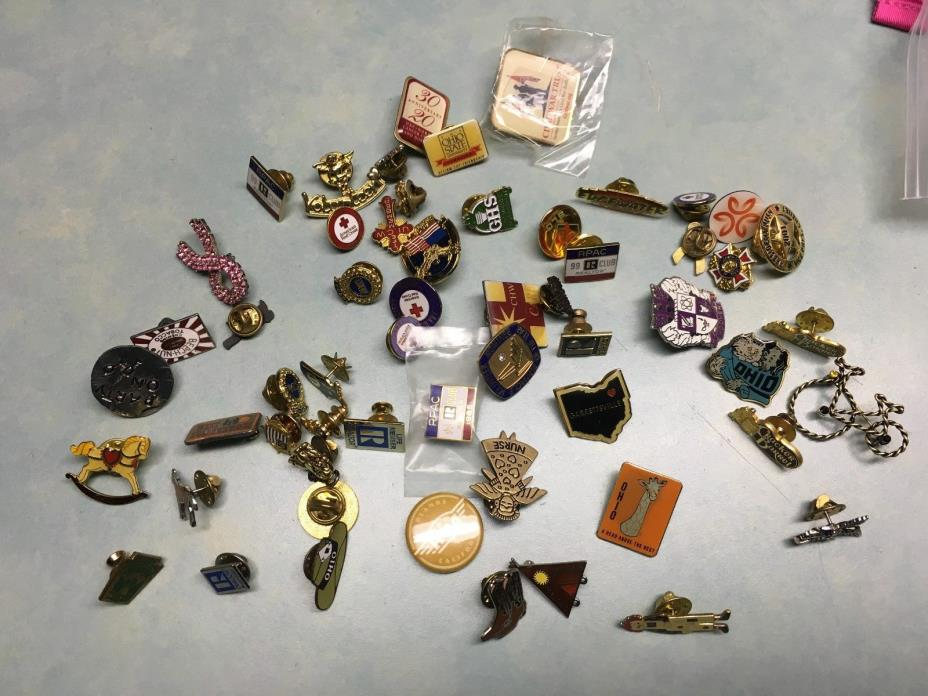 50 Junk Drawer Pin Back Lot