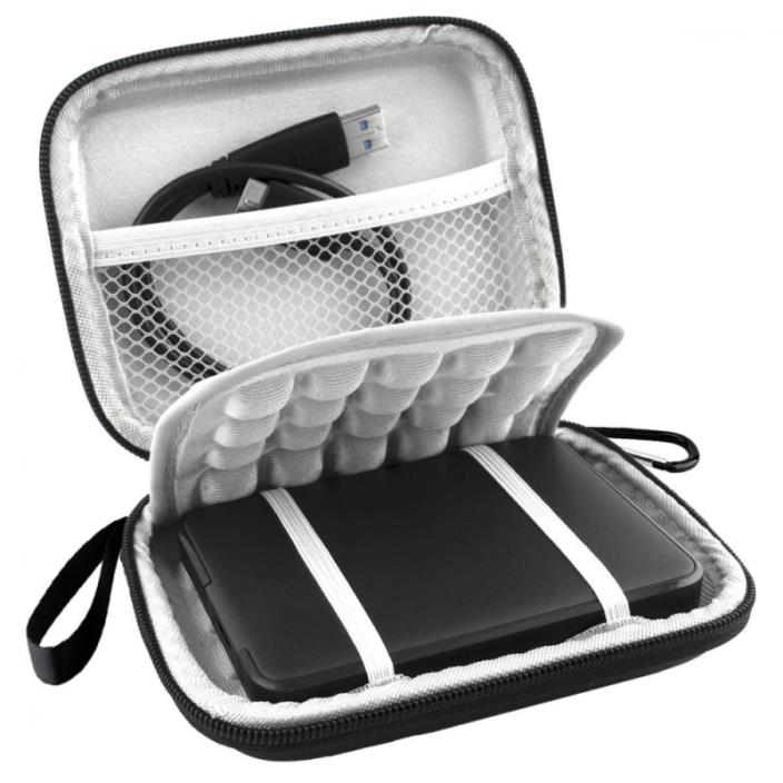 Lacdo EVA Shockproof Carrying Case for Western Digital My Passport