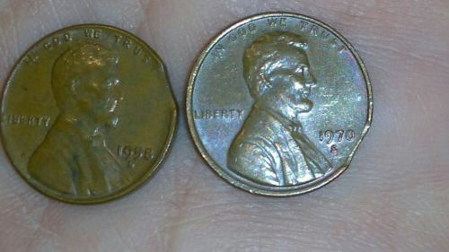 clipped planchet penny errors