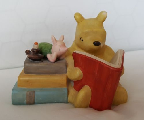 WINNIE THE POOH PIGLET Ceramic Night Light