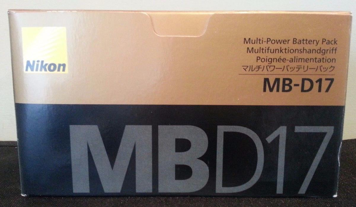 Nikon MB-D17 Multi Power Battery Pack for D500 NEW