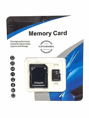 Lot 2x 128 GB Micro Memory Cards Class 10 w/ Free Adapter For  Camera MP3