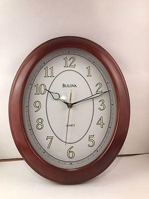 Bulova Wood Wall Quartz Clock & Mantel House Clock
