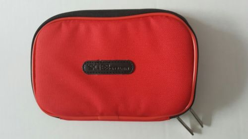Nintendo 3DS Zippered Console Case- Red