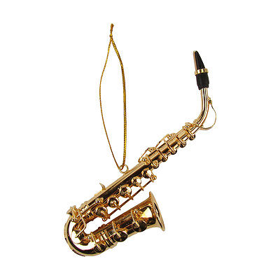 Miniature Saxophone Musical Instrument Jazz Band/Musician/Music Instructor Gift