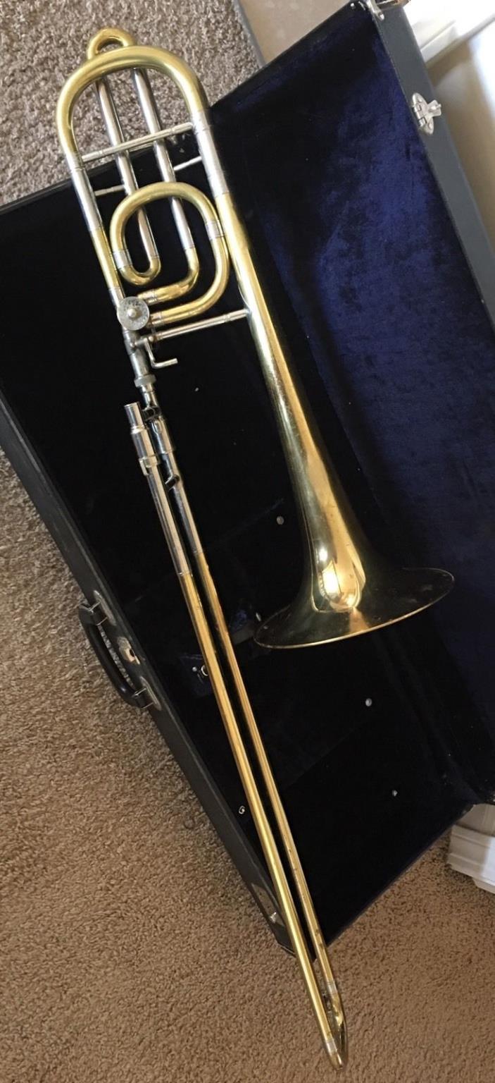 Vintage 1967 Mirafone (Miraphone) Bass Trombone - Single Rotor & 9 1/2