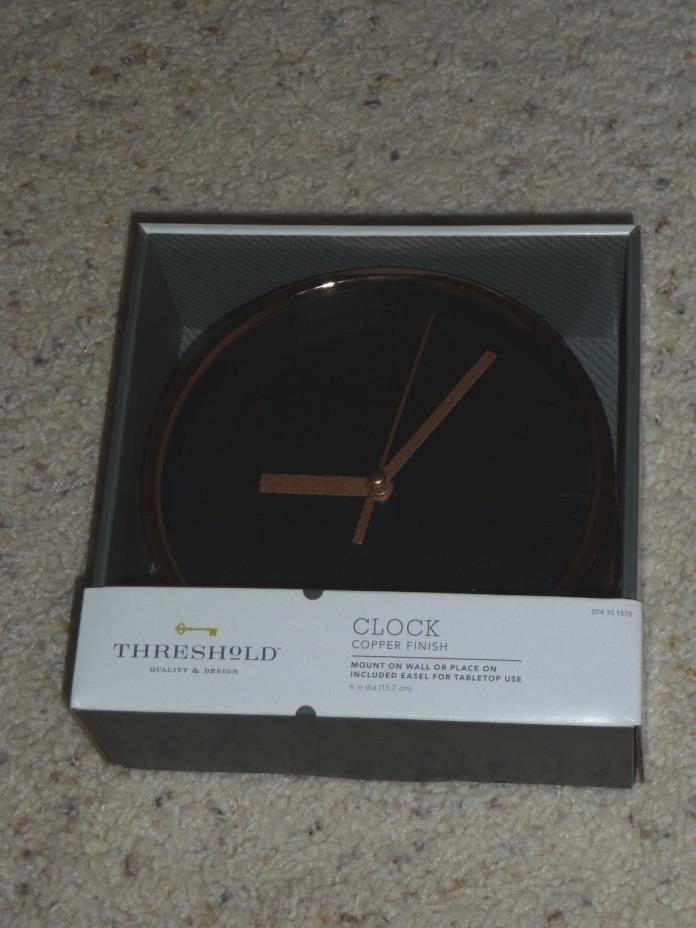 Threshold Target  Small Wall Clock  6