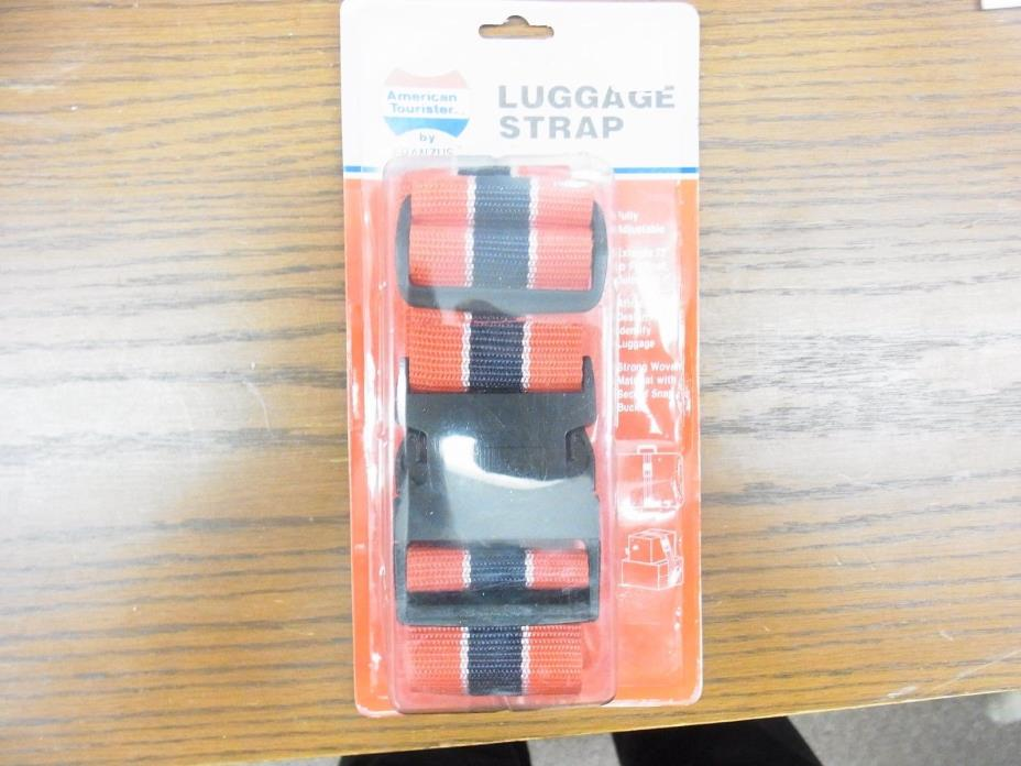 American Tourister Luggage Strap Red fully adjustable 72