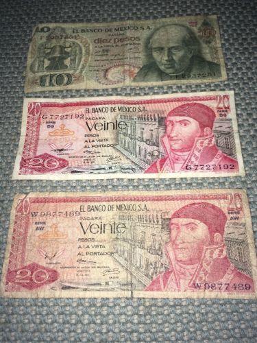 *MEXICO* Paper money