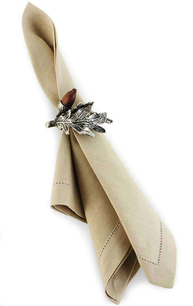 Mud Pie Acorn Napkin Ring